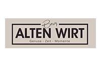 Logo Beim ALTEN WIRT, Halblech