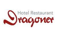"""Logo Hotel-Restaurant """"Zum Dragoner"""" oHG, Peiting"""