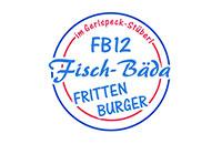 Logo Fisch-Bäda FB 12 im Gerlspeck-Stüberl, Erding
