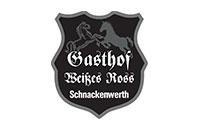 Logo Gasthof Weißes Ross, Werneck OT Schnackenwerth
