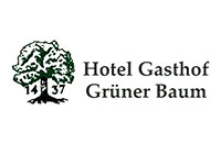 Logo Hotel Gasthof Grüner Baum, Pommersfelden
