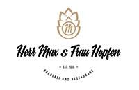 Logo Herr Max und Frau Hopfen, Holzguenz