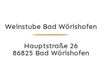 Logo Weinstube Bad Wörishofen, Bad Wörishofen