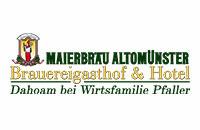 Logo Brauereigasthof & Hotel Maierbräu, Altomünster