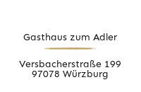 Logo Gasthaus zum Adler, Würzburg