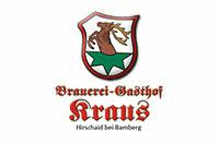 Logo Brauerei-Gasthof Kraus GmbH & Co. KG, Hirschaid