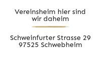 Logo Vereinsheim hier sind wir daheim, Schwebheim