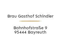 Logo Brau Gasthof Schindler, Bayreuth