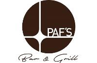Logo PAF's Bar & Grill GmbH, Pfaffenhofen