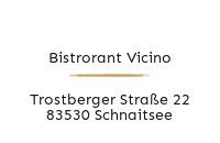 Logo Bistrorant Vicino, Schnaitsee