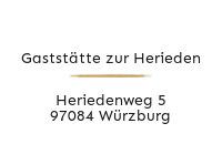 Logo Gaststätte zur Herieden, Würzburg