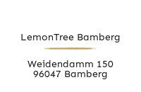 Logo LemonTree Bamberg, Bamberg