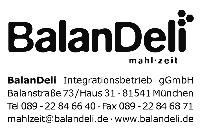 Logo BalanDeli Integrationsbetrieb gGmbH, München
