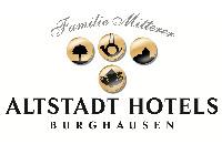 Logo Altstadthotels Familie Mitterer GmbH, Burghausen