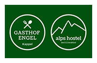 Logo Gasthof Engel - Alps Hostel, Pfronten