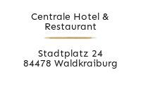 Logo Centrale Hotel & Restaurant, Waldkraiburg