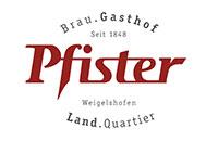 Logo Brau.Gasthof|Land.Quartier Pfister, Eggolsheim
