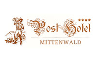 Logo Post Hotel, Mittenwald