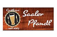 Logo Gasthaus & Biergarten Saaler Pfandl, Saal