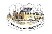 Logo Wirtshaus zur Stiegmühle, Waldershof