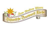 Logo Historische Bratwurstküche Zum Gulden Stern, Nürnberg